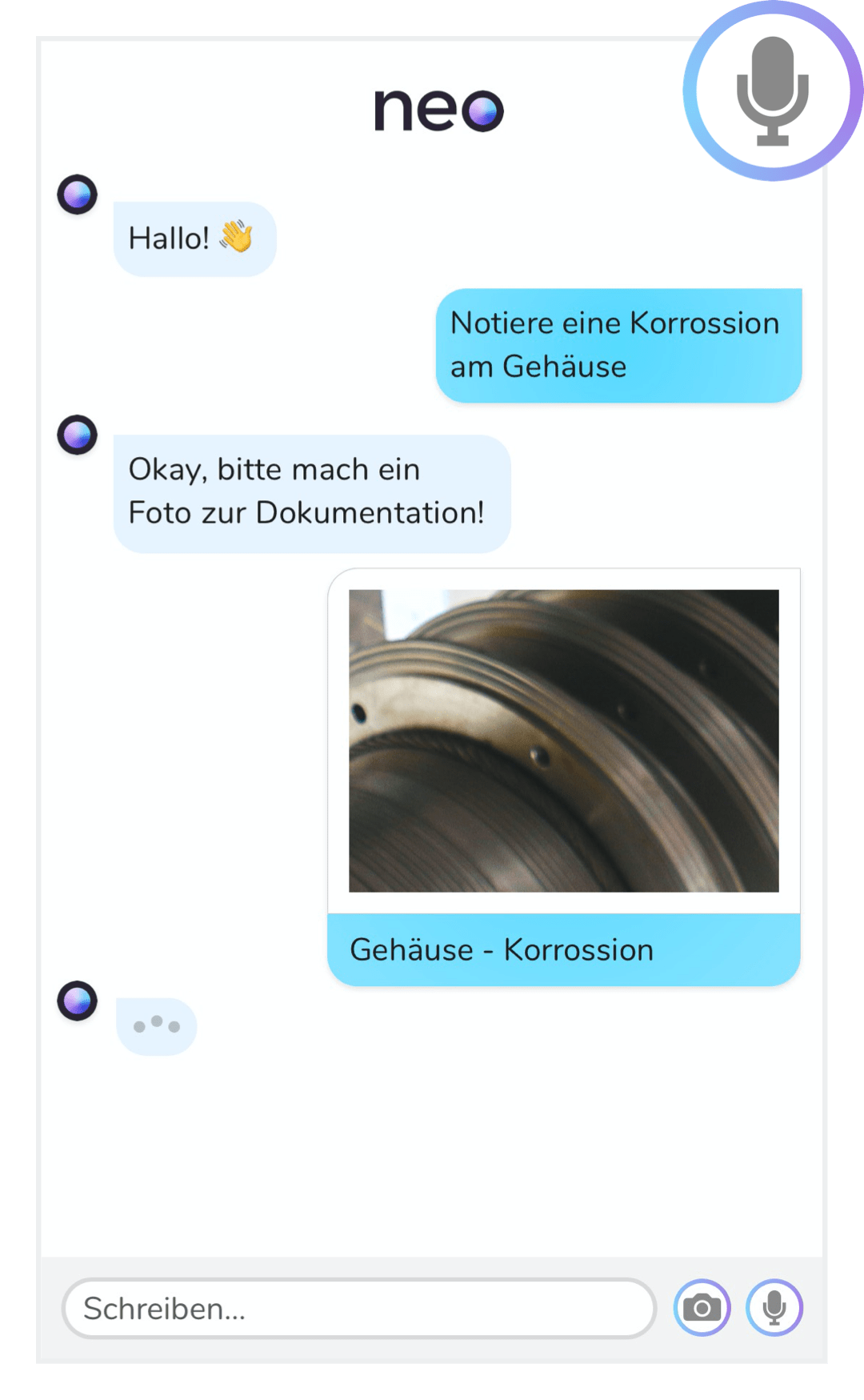 Sprachassistent zur Dokumentation