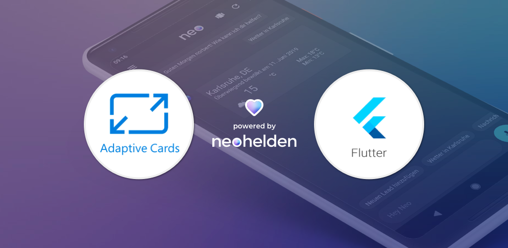 Using Adaptive Cards in Flutter: Open-Source library from Neohelden